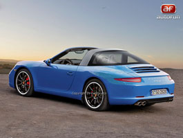 Spy Photos: Porsche Targa S