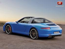 Spy Photos: Porsche Targa S