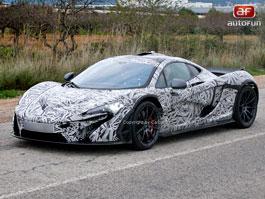 Spy photos: McLaren P1
