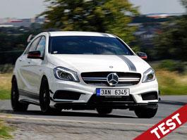 Test: Mercedes-Benz A 45 AMG – Superman