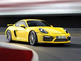Porsche Cayman GT4: Se srdcem z Carrery S