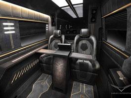 Carlex Automotive Business Van: Sprinter hyperluxusním přepravníkem