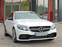 Mercedes-AMG C 63 od DTE-Systems: Céčko má 590 koní