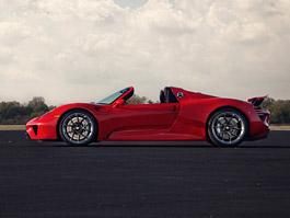 Rudé Porsche 918 na kolech HRE: Kalifornský pozdrav do Maranella
