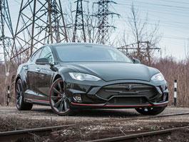Tesla Model S �Elizabeta� m� ost�ej�� linie