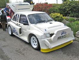 MG Metro 6R4 Group B: Z�vodn� auto Colina McRae na prodej