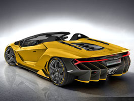 Lamborghini tento t�den uk�e Centenario Roadster, unik�tn� speci�l se 770 ko�mi