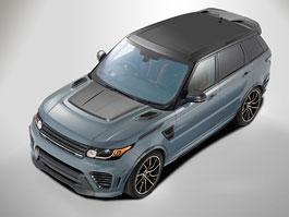 Overfinch Supersport je po��dn� na�tvan� Range Rover Sport SVR