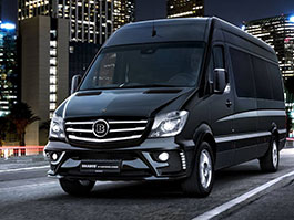 Brabus prom��uje Mercedes-Benz Sprinter ve VIP Conference Lounge