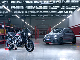 Abarth Tributo XSR uvádí Yamahu XSR 900 Abarth (+video)