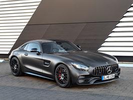 Mercedes-AMG GT C i jako kupé a modernizace ostatních členů rodiny