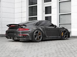 Porsche 911 Turbo v karbonovém kabátku od TopCar