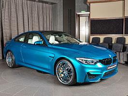 BMW M4 Competition v atlantické modré vypadá úžasně