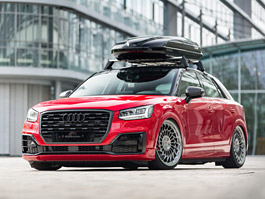 Audi Q2 od AH Exclusive Parts je proklatě nízko nad zemí
