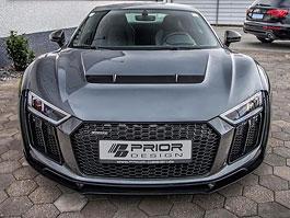 Prior Design trošičku víc rozšiřuje Audi R8 Coupé