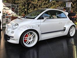 Fiat 500 vúpravě Giannini: Městské mini svýkonem 350 koní