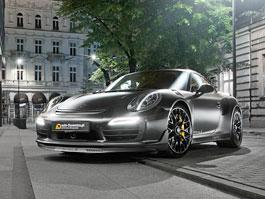 Porsche 911 Turbo S jako Dark Knight z Polska