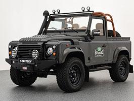 Land Rover Defender jako dobrodruh s luxusním interiérem