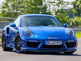 Blue Arrow je nejrychlejší Porsche 911 Turbo S