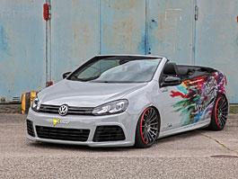 Volkswagen Golf VI Cabriolet jako agresivní sportovec