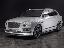Bentley Bentayga v decentní úpravě z Ruska