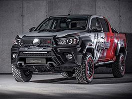 Toyota Hilux Hilly Pickup Design: Carlex ladí už i užitkáče!
