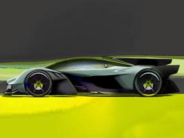 Aston Martin Valkyrie AMR Pro nabídne extrémní svezení na závodních okruzích