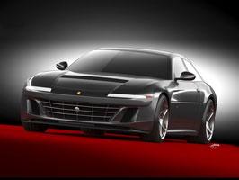 Ares Design chce oživit velké cestovní Ferrari 412 s technikou GTC4 Lusso