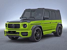 Lumma Design a záplava uhlíkových vláken pro nový Mercedes-AMG G 63
