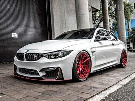 BMW M4 Coupé: Sněhobílý dravec s extrémním výkonem