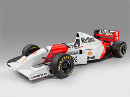 Výprodej monopostů F1 s puncem tragicky zesnulé legendy, Ayrtona Senny