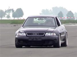 Tohle bláznivé Audi S4 je výkonnější než Bugatti Veyron