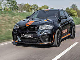 G-Power proměňuje BMW X6 M v Typhoon