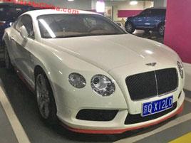 Cool auta v jedné čínské garáži