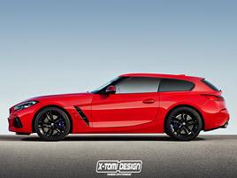 Nové BMW Z4 jako shooting brake. Tohle chceme vidět na silnici!