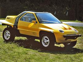Suzuki kdysi postavilo terénní kupé s motorem uprostřed. Znáte RT-1?