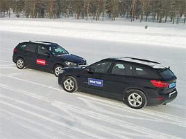 Pohon všech kol versus zimní pneumatiky. Tady je důkaz, že čtyřkolka není všespásná