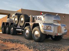 Zapomeňte na šestikolový Mercedes. V Dubaji můžete potkat tohle desetikolové monstrum