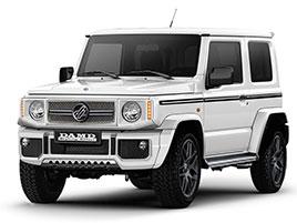 V Japonsku vám ze Suzuki Jimny udělají Mercedes třídy G nebo Land Rover Defender
