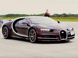 Takhle vypadá jízda rychlostí 420 km/h v Bugatti Chiron