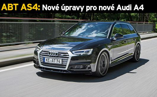 ABT AS4: Nov� �pravy pro nov� Audi A4