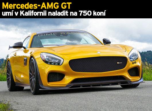 Mercedes-AMG GT um� v Kalifornii naladit na 750 kon�