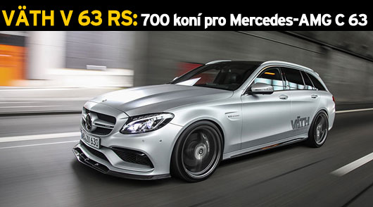 VÄTH V 63 RS nabízí 700 koní pro Mercedes-AMG C 63