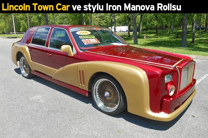 Lincoln Town Car ve stylu Iron Manova Rollsu
