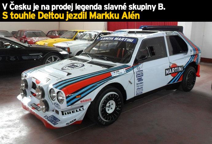 V Česku je na prodej legenda slavné skupiny B. S touhle Deltou jezdil Markku Alén