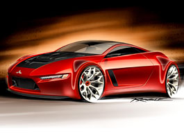Mitsubishi Concept-RA: dieselové dvoumístné kupé: titulní fotka