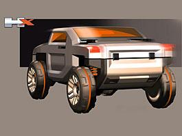 Hummer HX Concept: Veterán ze zálivu chce do sportovní ligy: titulní fotka