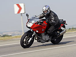 Test - BMW F800S: sportovec z Německa: titulní fotka