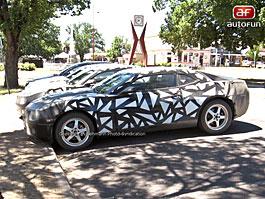 Spy photos: Chevrolet Camaro – Masožravý poník na obzoru: titulní fotka