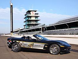 Corvette pro Indy 500: titulní fotka